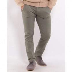 Pantalon chino PTERA Vert kaki