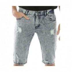 Bermuda jeans BOLTANY Bleu