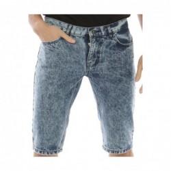 Bermuda jeans BOLTARO Bleu