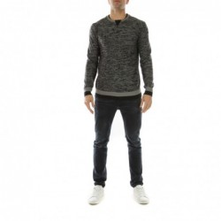 Pull col rond DUNOIS Noir