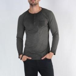 T-shirt manche longue col...