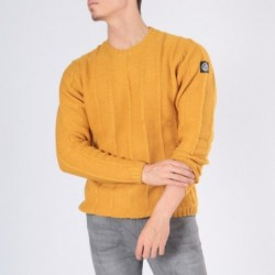 Pull col rond EIFFEL Moutarde