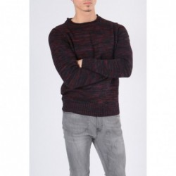 Pull col rond GUIDI Bleu nuit