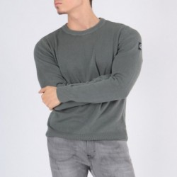 Pull col rond ECHARDE Gris...