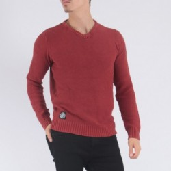 Pull col V AIDE Bordeaux