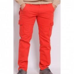 Pantalon cargo BROM Orange