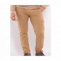 Pantalon cargo BROM Rouge...