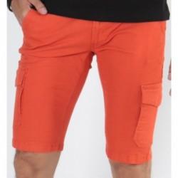 Bermudas 5 poches Broli Orange