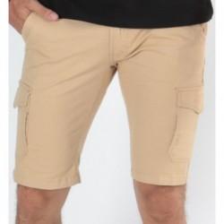 Bermudas 5 poches Broli Beige
