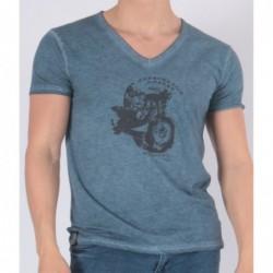 T-shirt Tooweel Bleu marine