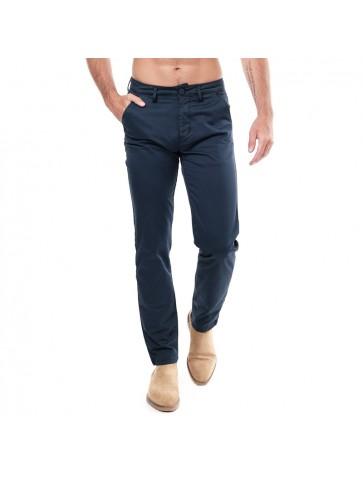 Pantalon chino ROLLO Bleu...