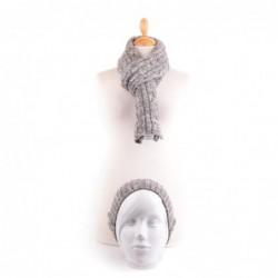 Echarpe et bonnet IMAD Gris