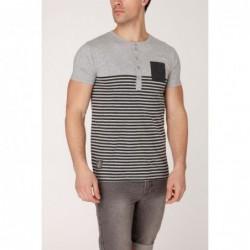 T-shirt Chumpkins Bleu gris