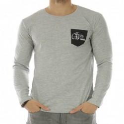 T-shirt Alubros Bleu gris