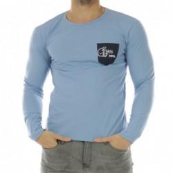 T-shirt Alubros Bleu clair