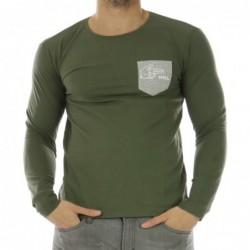 T-shirt Alubros Vert kaki