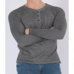 T-shirt manches longues col...