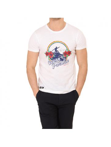 T-shirt MATHEO Blanc