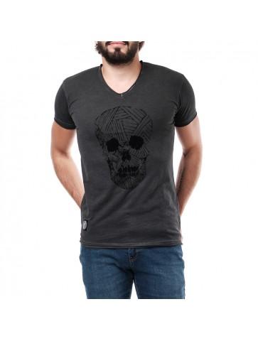 T-shirt  AKAMARU  Noir