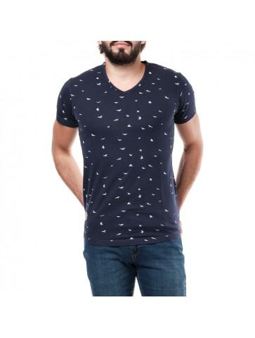T-shirt GAMBLAST Navy
