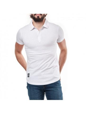 Polo THUNDERLAK Blanc