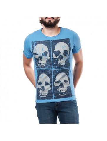 T-shirt  BRISKULL manches...