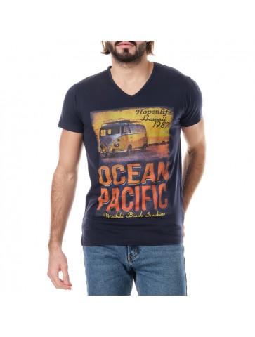 T-shirt Ocean Bleu marine