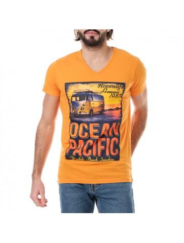 T-shirt Ocean Orange
