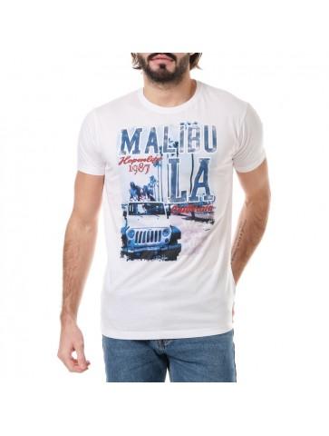 T-shirt Malibu Blanc