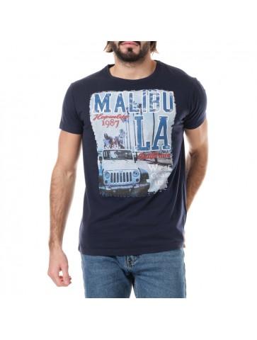 T-shirt Malibu Bleu marine