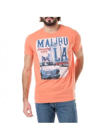 T-shirt Malibu Corail