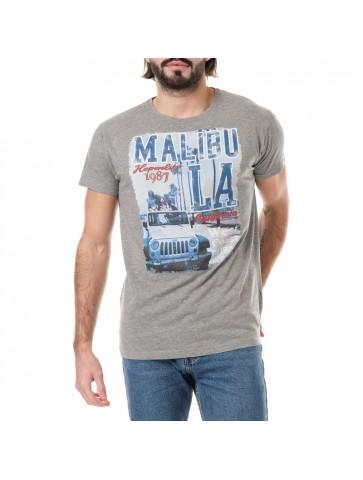 T-shirt Malibu Gris